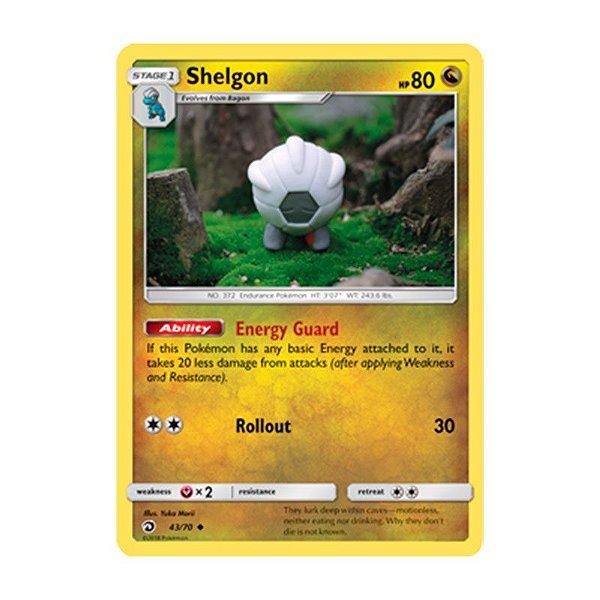 Pokémon TCG: Shelgon (43/70) - SM7.5 Dragões Soberanos
