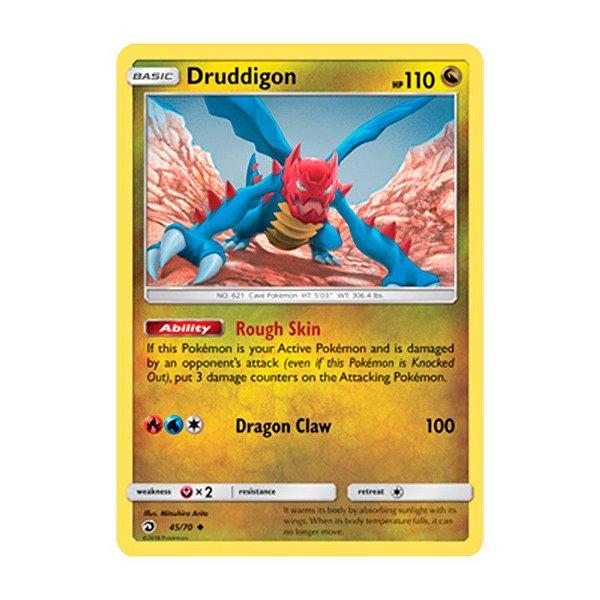 Pokémon TCG: Druddigon (45/70) - SM7.5 Dragões Soberanos