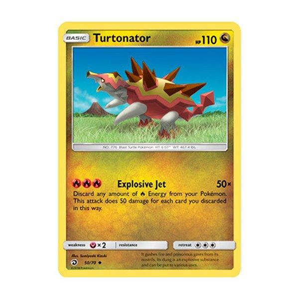 Pokémon TCG: Turtonator (50/70) - SM7.5 Dragões Soberanos