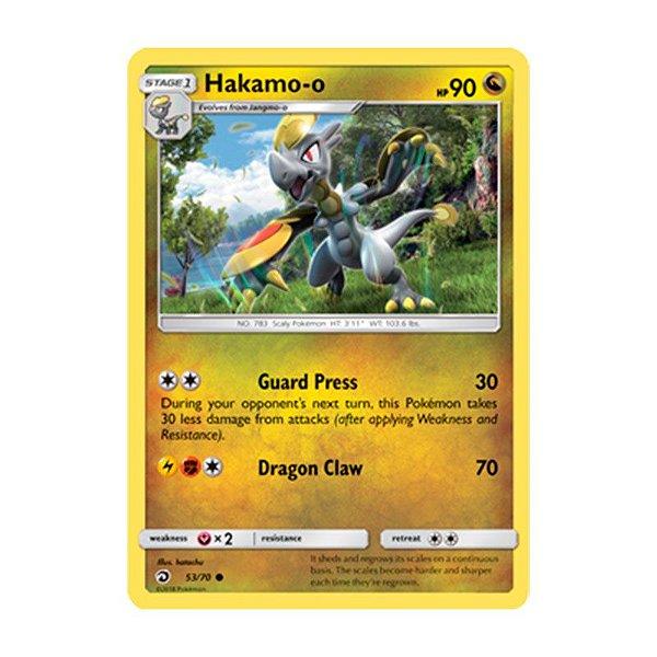 Pokémon TCG: Hakamo-o (53/70) - SM7.5 Dragões Soberanos