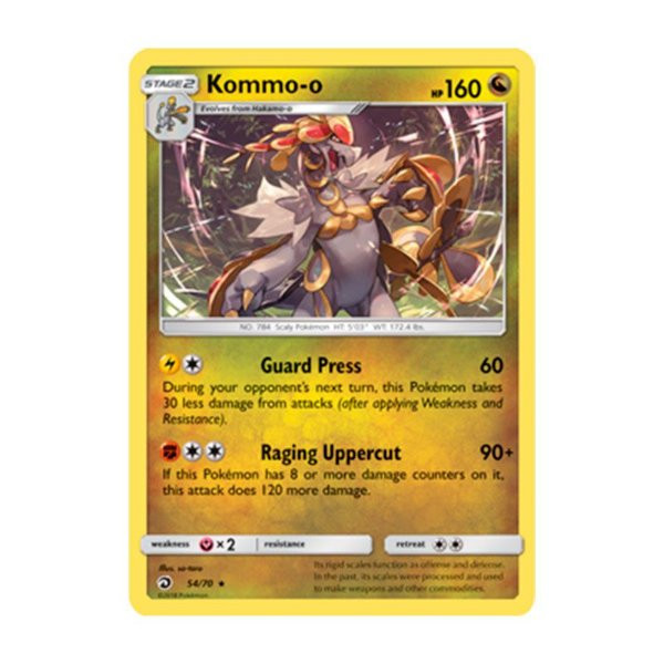 Pokémon TCG: Kommo-o (54/70) - SM7.5 Dragões Soberanos