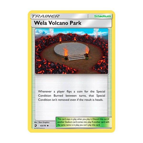 Pokémon TCG: Vulcão Wela (63/70) - SM7.5 Dragões Soberanos