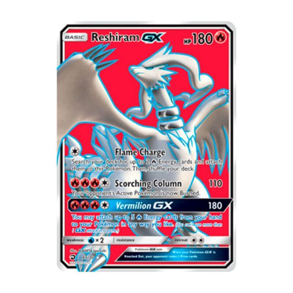 Pokémon TCG: Reshiram GX (65/70) - SM7.5 Dragões Soberanos