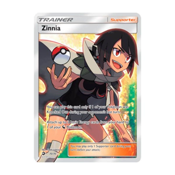 Pokémon TCG: Zínia (70/70) - SM7.5 Dragões Soberanos