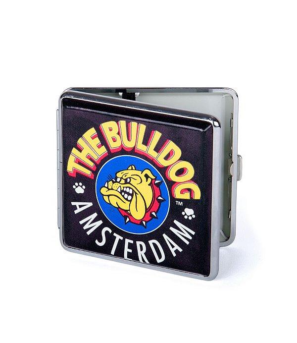 Cigarreira Case Logo The Bulldog Amsterdam em Metal GH00113