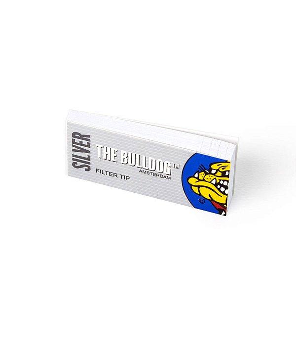 Filtro Slim Tips Silver The Bulldog - SM00102