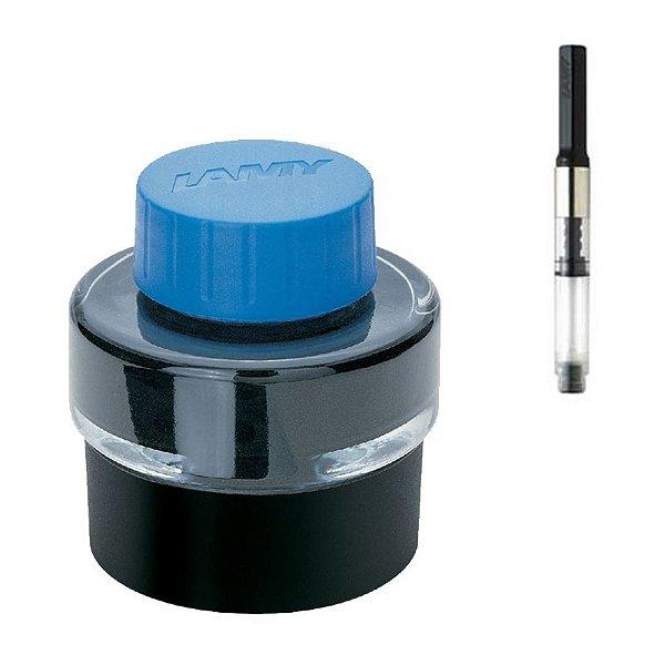 Frasco de Tinta LAMY Azul 30ml + Conversor LAMY Z26