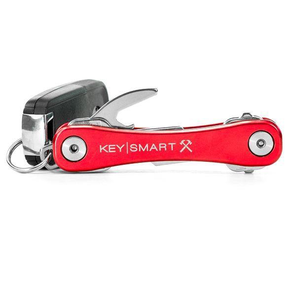 Keysmart Vermelho Rugged - Organizador De Chaves Com Clip