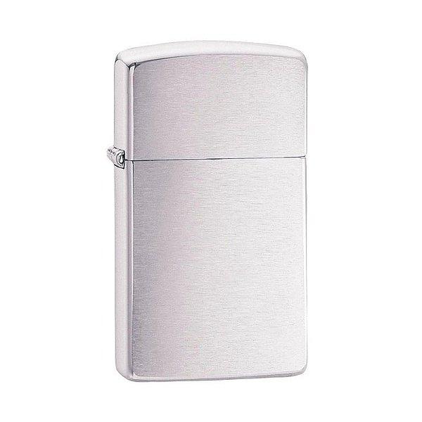 Isqueiro Zippo 1600 Slim Cromo Escovado