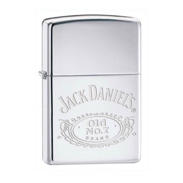 Isqueiro Zippo 250JD.321 Classic Jack Daniel's Polido