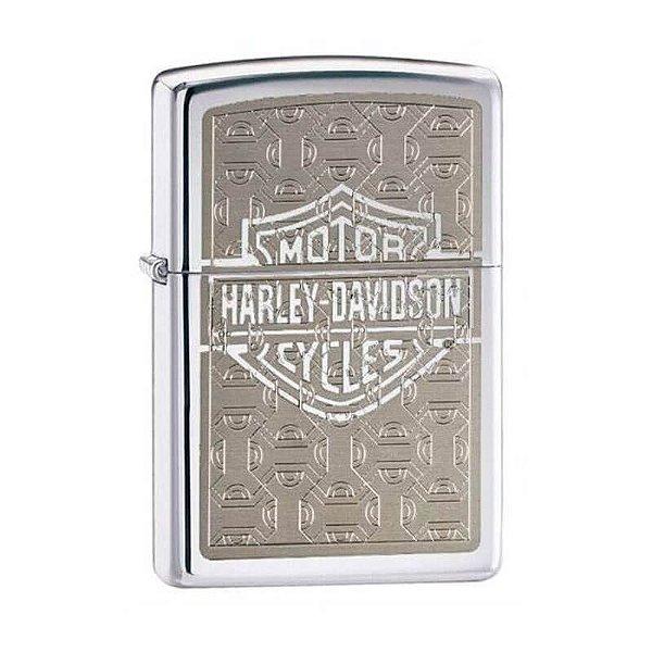 Isqueiro Zippo 28083 Harley-Davidson® Super Polido