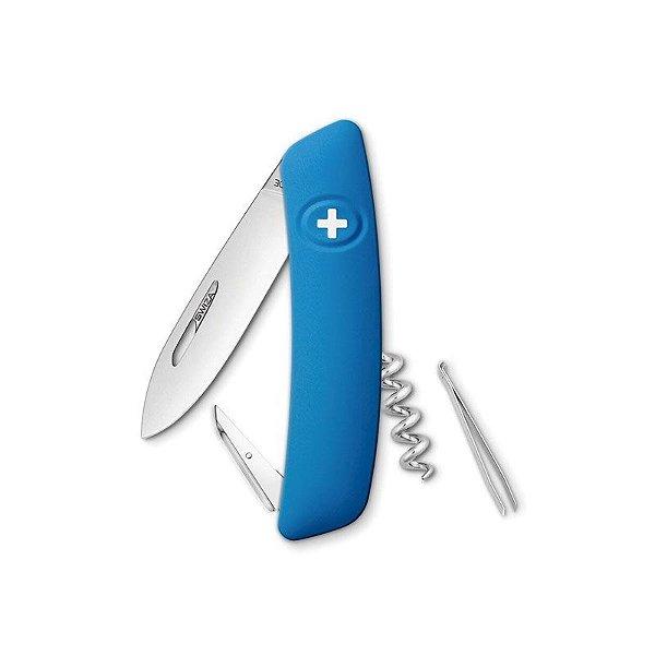 Canivete Suíço D01 Azul Swiza com Bag Premium