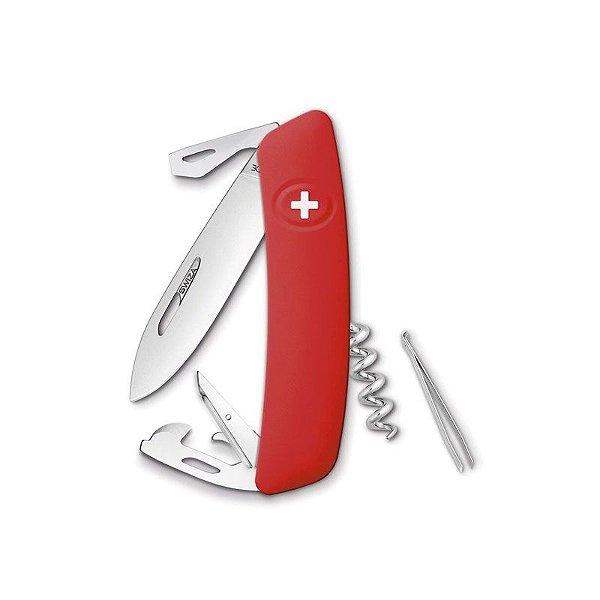 Canivete Suíço D03 Vermelho Swiza