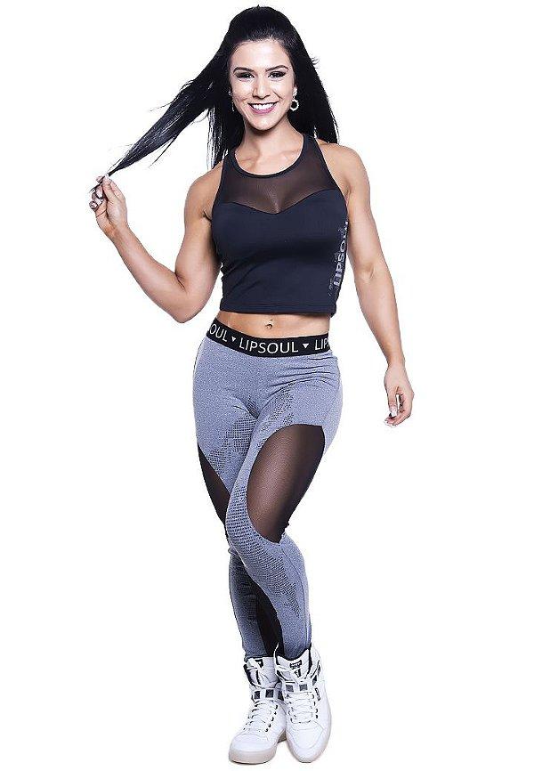 Blusa fitness roupas para academia 5005