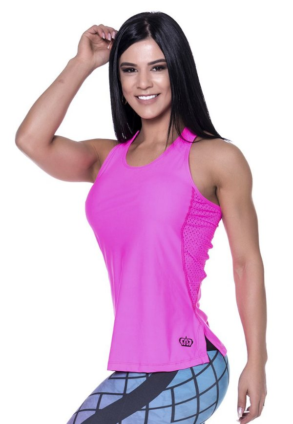 Regata Fitness Roupa de Academia 5302