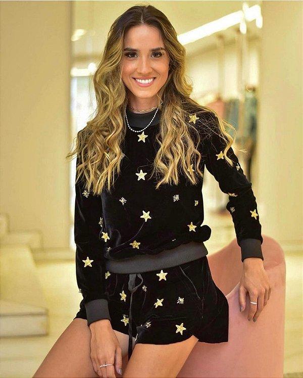 Short Moletom Star Samara P - DENISE VALADARES
