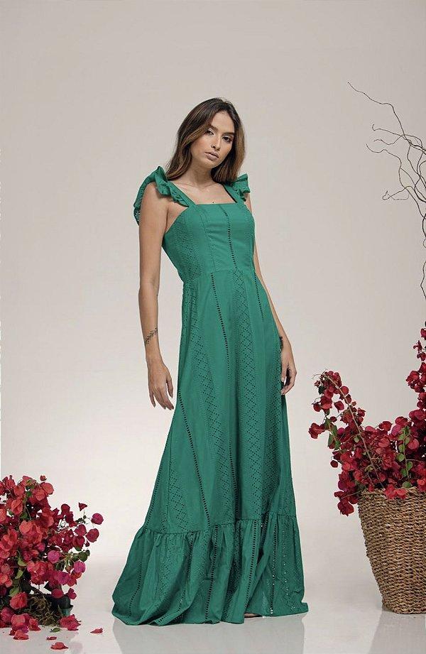 Vestido Longo Lasie Verde - LOTTUS