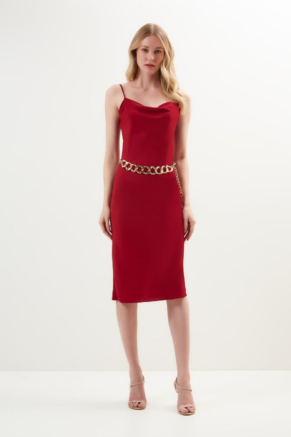 Vestido Sleep Dress Tinto - LITT