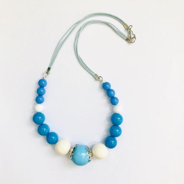 Maxi Colar - Bonina Azul