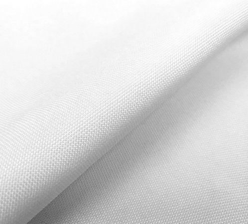 Tecido Oxford Branco 1,40x1,00m Toalhas Guardanapos Cortinas