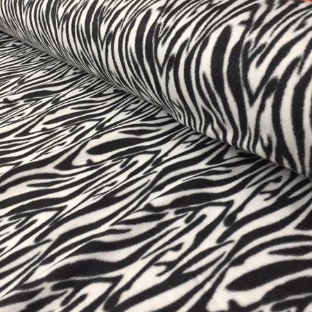Tecido Soft 100% Poliéster Estampado Zebra 1.40x1,00m