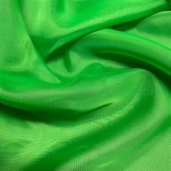 Tecido Voil Liso 3,00x1,00m Verde