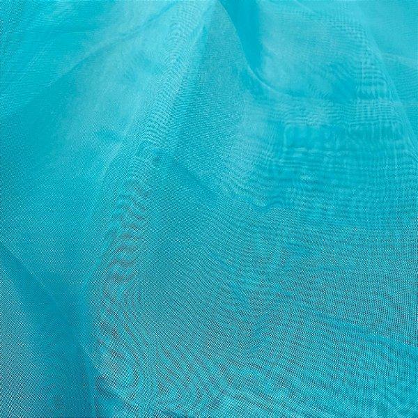 Tecido Voil Liso 3,00x1,00m Azul
