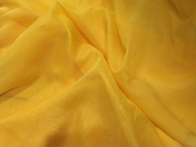 Tecido Voil Liso 3,00x1,00m Amarelo