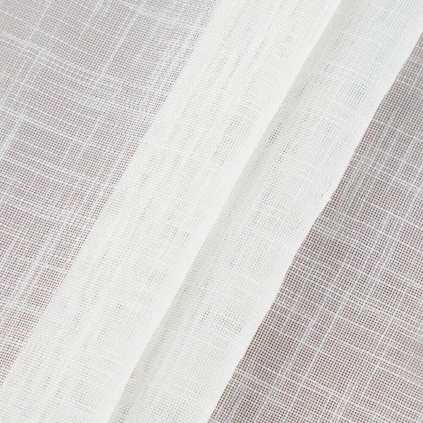 Tecido Para Cortina Voil Trabalhado Croc - Largura 3,00m - BEL-35