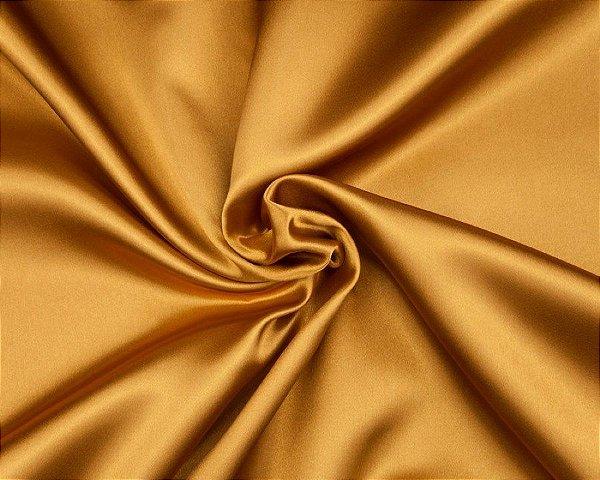 Cetim Liso 3mts  Ouro
