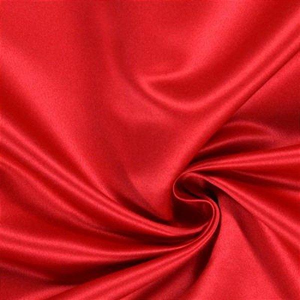 Cetim Liso 3mts Vermelho