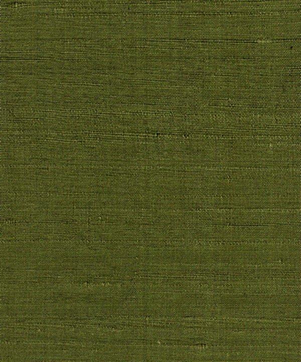 Seda Pura Verde Musgo