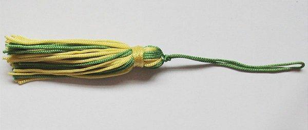 Pingente Mini verde e amarelo
