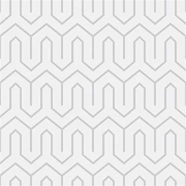 Papel De Parede Vinílico Cubic - Cinza - CU87436