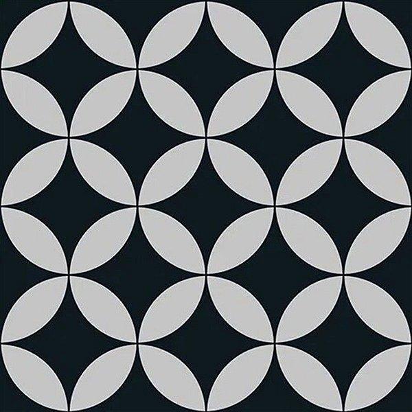 Papel De Parede Vinílico Cubic - Preto - CU87414