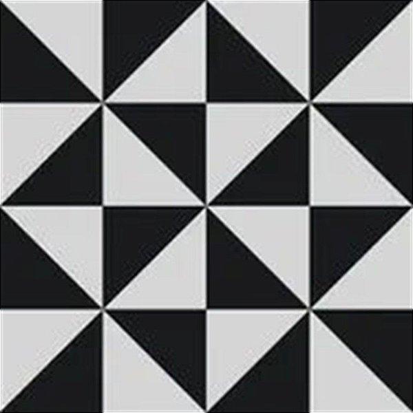 Papel De Parede Vinílico Cubic - Preto - CU87405