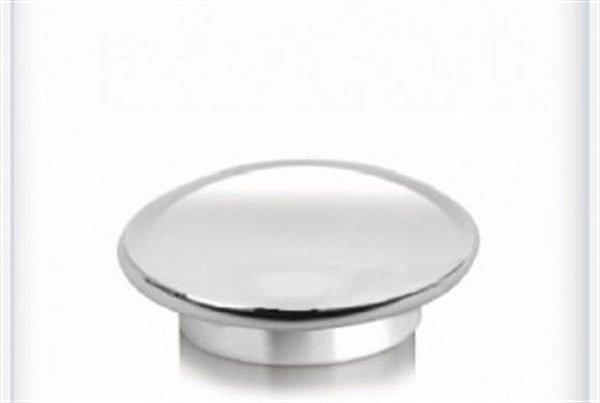 Ponteira Para Varão de Cortina Chata 28mm Decorativa