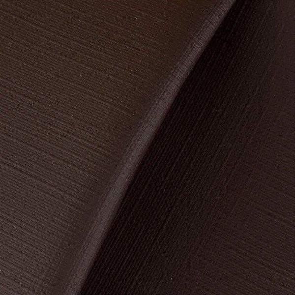 Sintético Courvim Para Estofado Itajai -03 Marrom Largura 1,40m - ITA-03