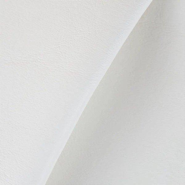 Sintético Courvim Para Estofado Camboriu -01 Branco Largura 1,40m - CAM-01