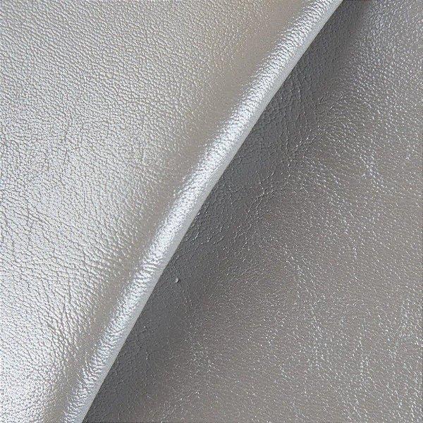 Sintético Courvim Para Estofado Camboriu -13 Prata Largura 1,40m - CAM-13