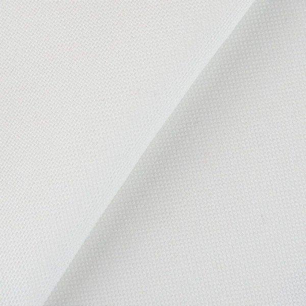Sintético Courvim Para Estofado Ilhabela- 01 Branco Largura 1,40m - ILB-01