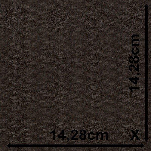 Tecido Para Sofá e Estofado Jacquad Impermeabilizado Panama 132 Liso Marrom Preto - Largura 1,40m - PN-132