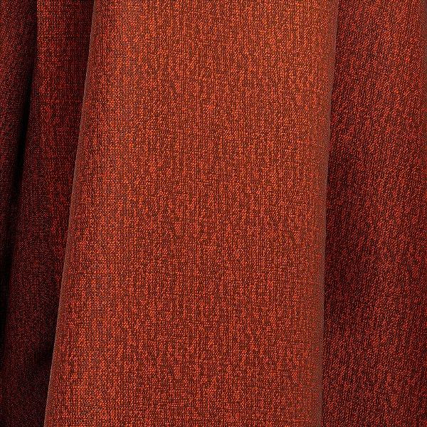 Tecido Para Sofá e Estofado Jacquad Impermeabilizado Panama 124 Liso Terracota - Largura 1,40m - PN-124