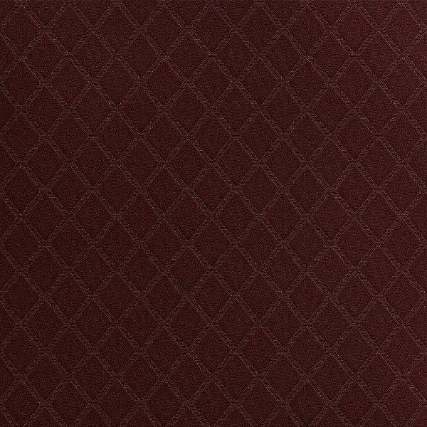 Tecido Para Estofado Veludo Pavia Geométrico 17 Vinho - Largura 1,40m - PGE-17