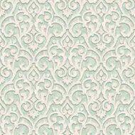Papel de parede Florence Verde Arabesco FR87224