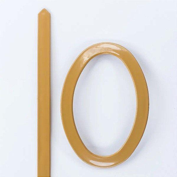 Abraçadeira Fivela Oval em PVC - Cerejeira