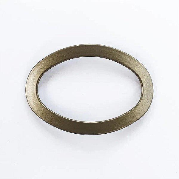 Abraçadeira Fivela Oval em PVC - Ouro Velho - FIVO-08