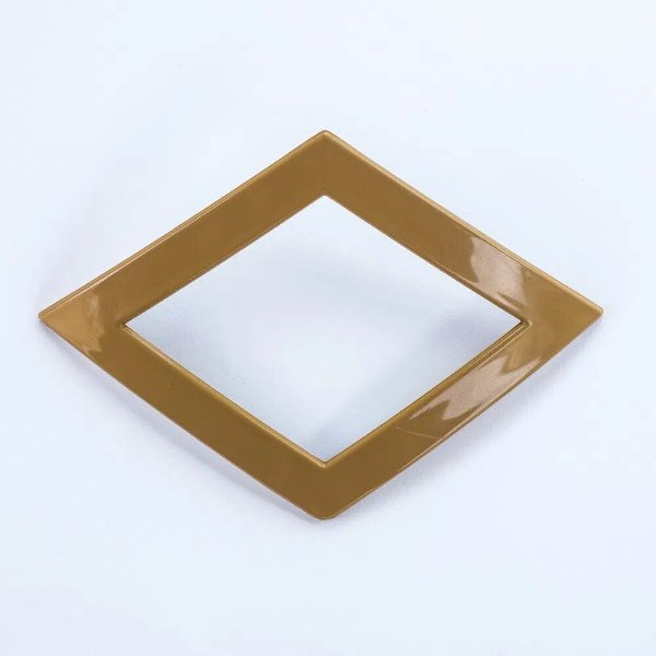 Abraçadeira Fivela Losango em PVC - Cerejeira Pequena- FIVL-C
