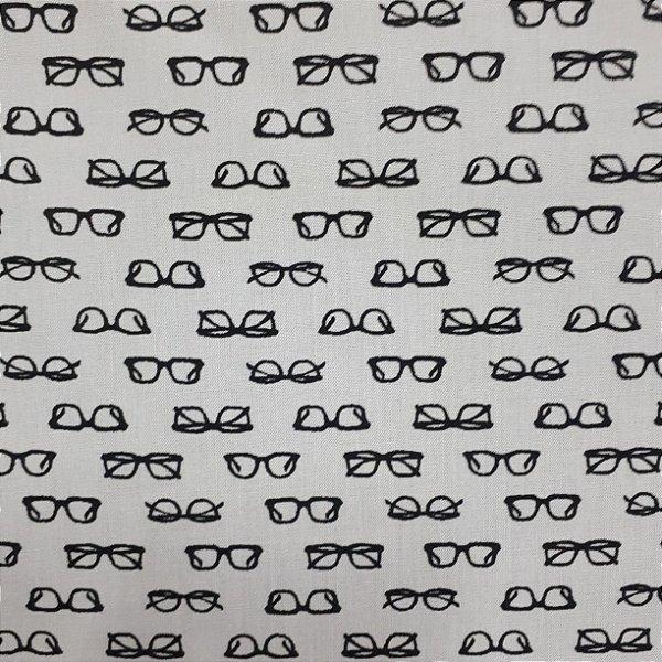 Tricoline Óculos fundo branco