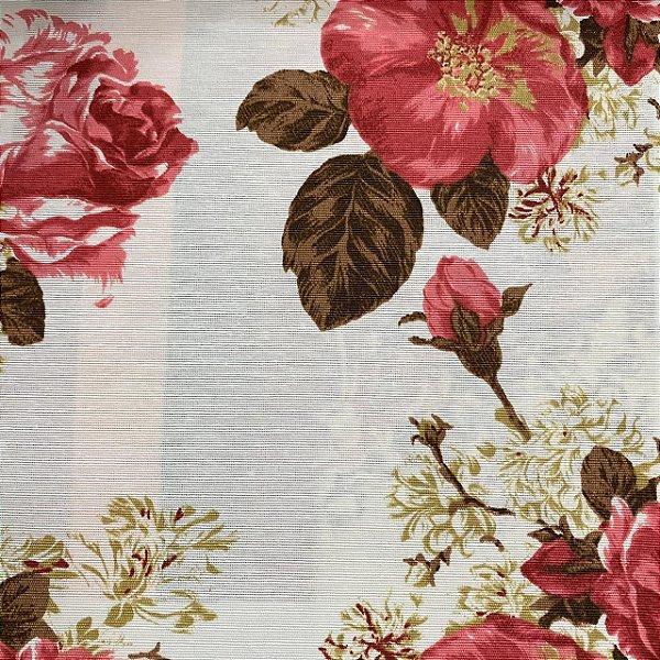 Tecido Riviera Impermeabilizado Flores